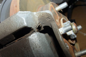 brake repair alignment service shepshed garage mechanic